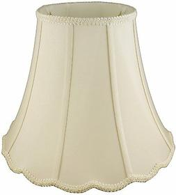American Pride Lampshade Co. 05-78094116 Scallop Soft Shantu
