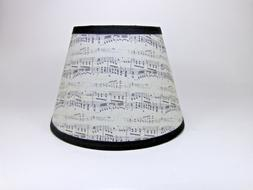 Sheet Music Musical Note Antique Fabric Handmade Lampshade L