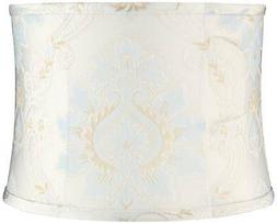 Skovde Blue Soft Drum Lamp Shade 13x14x10