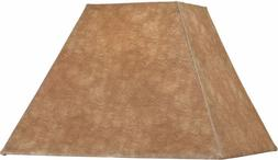 Dolan Designs 140042 Square Soft Back Lamp Shade, Taupe