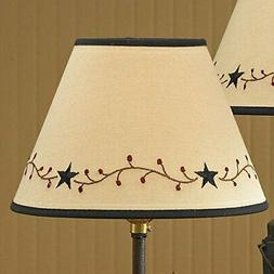 Park Designs Star Vine Lamp Shade,Cream,14""