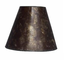 Urbanest 6-inch Mica Chandelier Lamp Shade, Amber