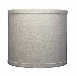 Urbanest Linen Drum Lamp Shade, 8-inch x 8-inch x 7-inch, Na