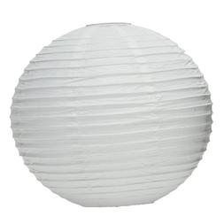 Wedding Star 9109-08 Round Paper Lanterns- Medium- White