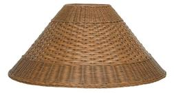 Wicker Lamp Shade Coolie