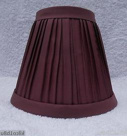 WINE Pleated Fabric Mini Chandelier Lamp Shade Traditional,